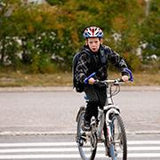 Pyörällä kouluun Espoon Sellossa