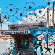 10. Suvilahti graffitiseinä ja DIY skeittiparkki