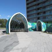 15. Niittykummun liityntäpyöräparkki metroasemalla, Espoo