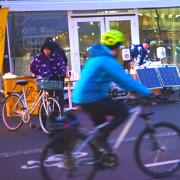 23. Pyöräkeskus Kansalaistorilla