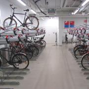 11. Tikkurilan aseman lämmitetty pyöräpysäköintihalli, Vantaa