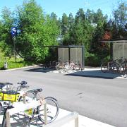 9. Hiekkaharjun aseman pyöräpysäköinti, Vantaa
