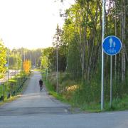 13. Kunnarlantien uusi jalankulku- ja pyörätie, Espoo