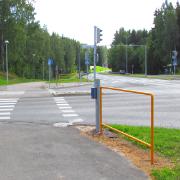 11. Pyöräilijän nojailukaide Martinkyläntie, Vantaa