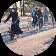 Ohjattu pyöräretki Helsingissä