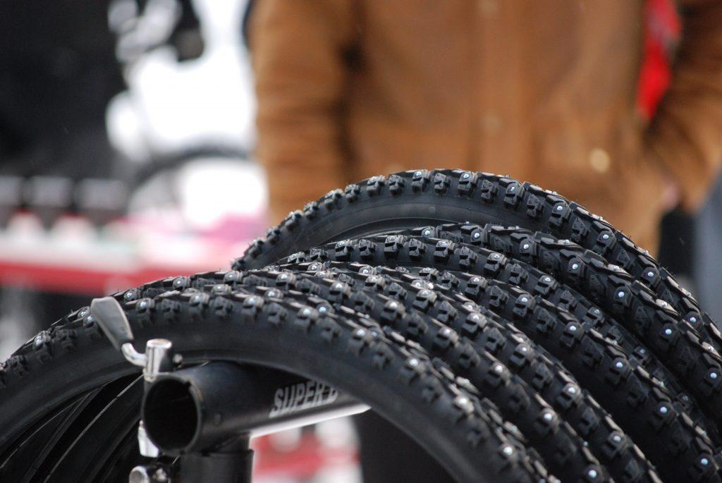 polkupyörän talvirenkaat