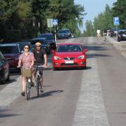 5. Kulosaaren puistotien pyöräkatu, Helsinki