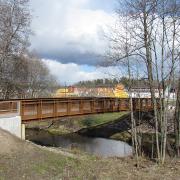 14. Mankinjoen silta Kauklahdessa, Espoo