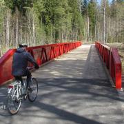 10. Matarinpuiston jalankulku- ja pyöräilysilta, Vantaa