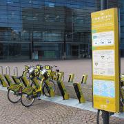 19. Itämerentorin kaupunkipyöräasema, Helsinki